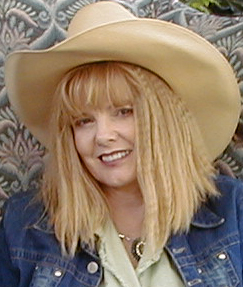 Penny Little wearing Hightower hat